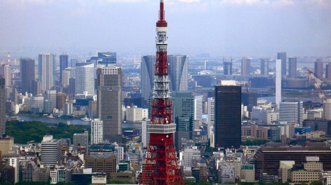 Image of Color of Tokyo Tower Facts for Kids Pictures