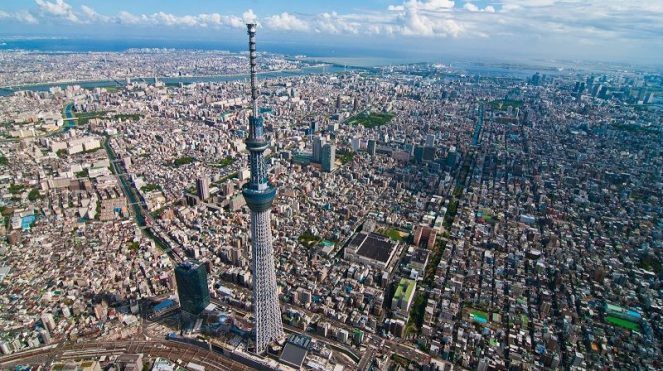 Image of Interesting Facts about Tokyo For Kids Tokyo Skytree Building Pictures