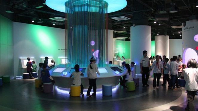 Image of Things to Do In Tokyo with Kids Indoor RiSuPia Panasonic Digital Network Museum Photos