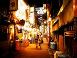 Image of What to Do in Tokyo at Night Walking in Shinjuku Golden Gai Picture Photos