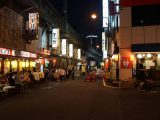 Image of What to Do in Tokyo at Night Yakitori Seller in Tokyo Photos