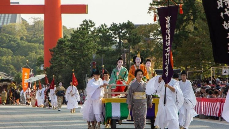 Image Photo For Sensoji Temple Facts - Jidai Matsuri Festival Pictures