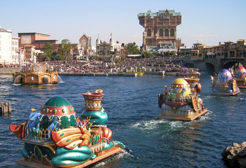 Image of Tokyo Disneyland Review - DisneySea Festival Pictures