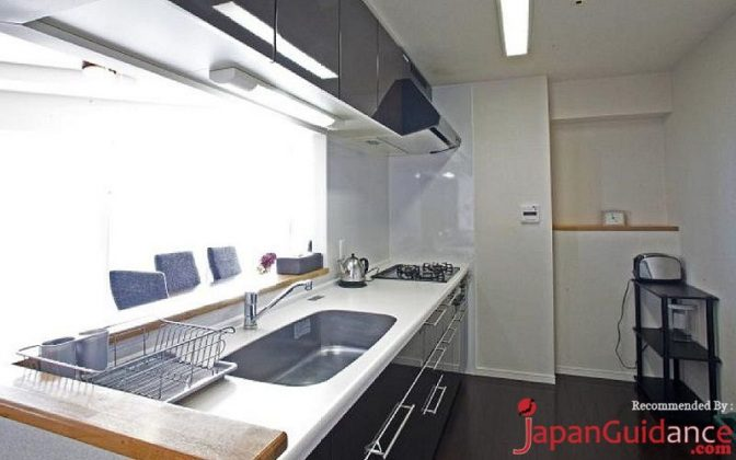 Image Photos of vacation rentals tokyo five diamond international apartment kitchen set Pictures