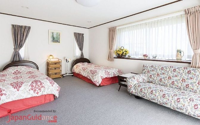 Image Photos of vacation rentals tokyo itohs duplex apartment kitchen bedroom double bed for guest or child Pictures