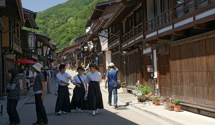 Image Photo of which cities to visit in japan narai juku village nagano perfecture Pictures