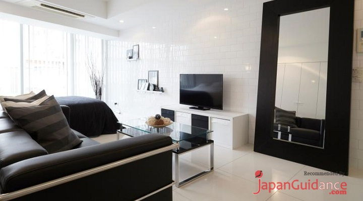 Image Photo of Tokyo Vacation Rentals Shibuya - Stylish and Modern Room Shibuya - Tv Include Pictures