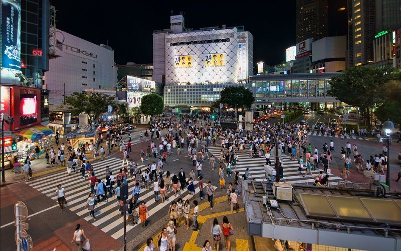 Image of What to Do in Tokyo at Night in Shibuya Scramble Activities Photos