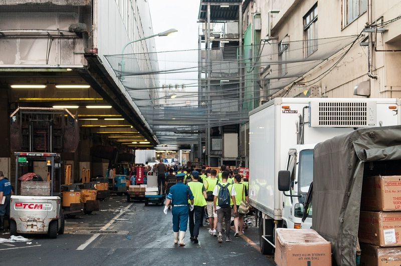 Images Photos For Japan's Fish Market Tsukiji - Daily Work Pictures