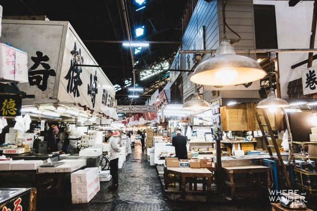 Images Photos for Japan's Fish Market Tsukiji - The Biggest Fresh Fish Market Pictures