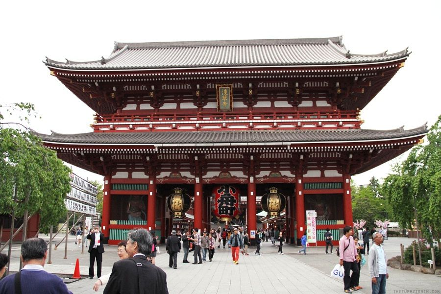 Image Photo for Sensoji Temple Facts Hozomon Pictures