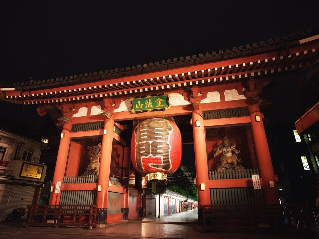 Image Phot For Sensoji Temple Facts - Kaminarimon Pictures