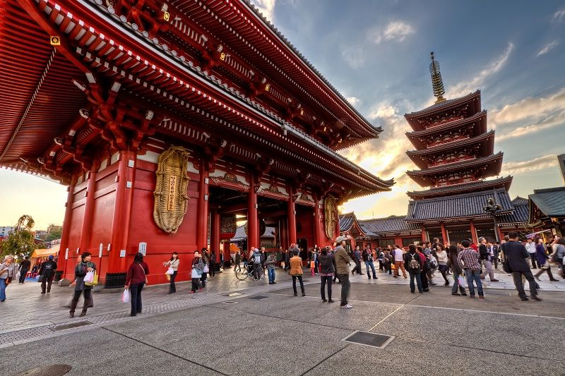 Image Phot for Sensoji Temple Facts - Opening Hours Pictures
