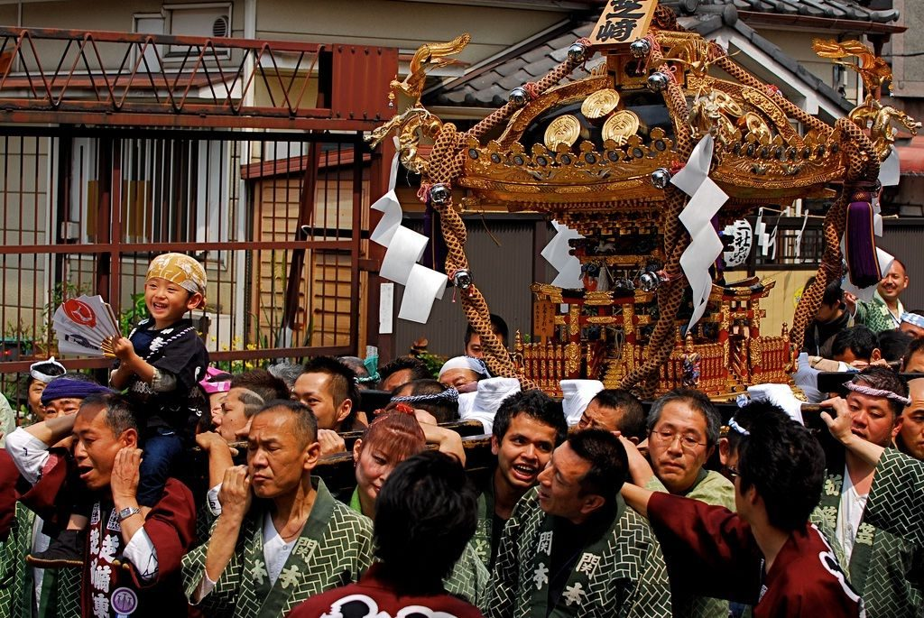 Image Photo for Sensoji Temple Facts - Sanja Matsuri Event Pictures