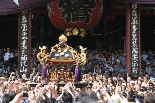 Image Photo for Sensoji Temple Facts - Sanja Matsuri Yakuza Pictures