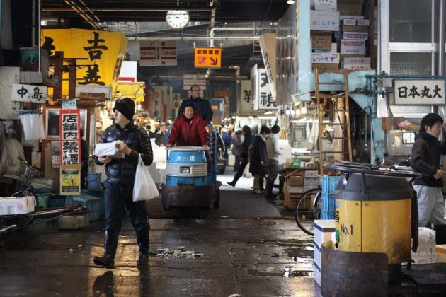 Images Photos for tsukiji fish market moving PIctures