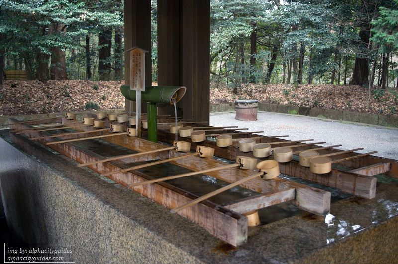 Image Photo of 10 Things You Have To Do In Tokyo - Okiome cleansing station Meiji Shrine Pictures
