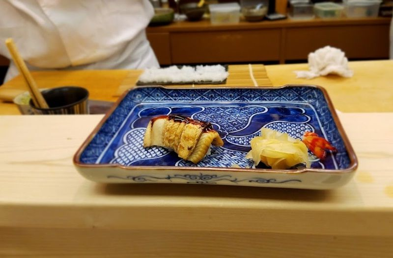 Image Photo of Kyoto Sushi Menu Looking Sushi-kappo Nakaichi Pictures