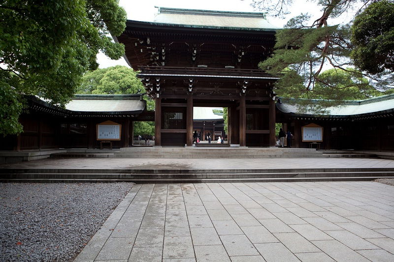 Image Photo of What To See In Harajuku - Building of Meiji Shrine Pictures