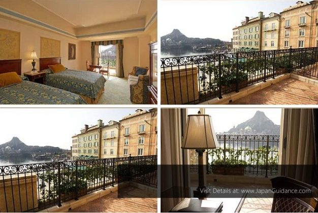 Image Photo of Hotel Near Tokyo Disneyland - Balcony Suite Room MiraCosta Hotel Pictures