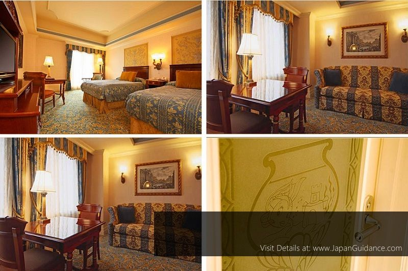 Image Photo of Hotel Near Tokyo Disneyland - Superior Suite Room MiraCosta Hotel Pictures