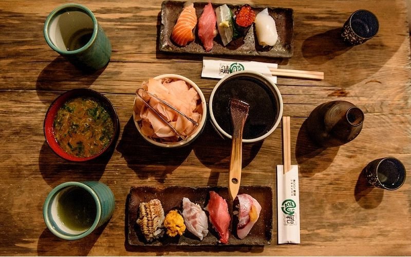 Image Photo of best places to eat osaka sushi endo sushi menu complete Pictures