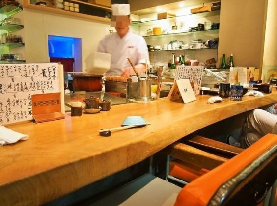 Image Photo of best places to eat osaka sushi hontozushi kaiba chef Pictures