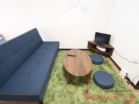 Image Photos of vacation rentals tokyo sakura house shinjuku kagurazaka sofa and tv features Pictures