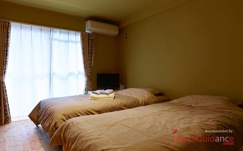 Image Photos of vacation rentals tokyo susumus cozy apartment double bed bedroom Pictures