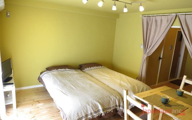 Image Photos of vacation rentals tokyo susumus cozy apartment double bed Pictures