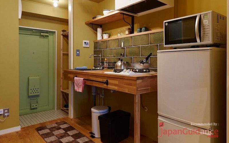 Image Photos of vacation rentals tokyo susumus cozy apartment kitchen accessories and utensils Pictures