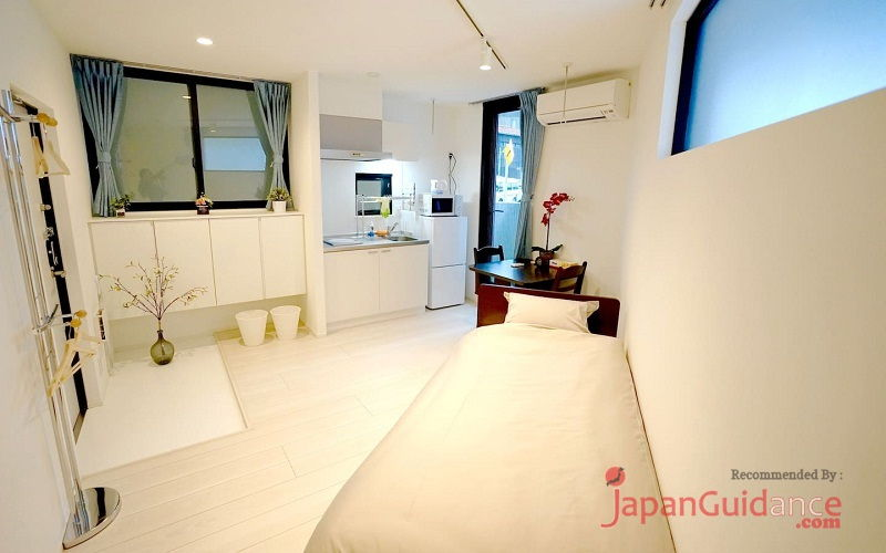 Image Photos of vacation rentals tokyo tokyo 101 twin room main room Pictures