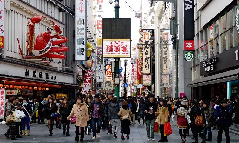 Image Picture of which cities to visit in japan enjoying dotonbori crowded in osaka Photos