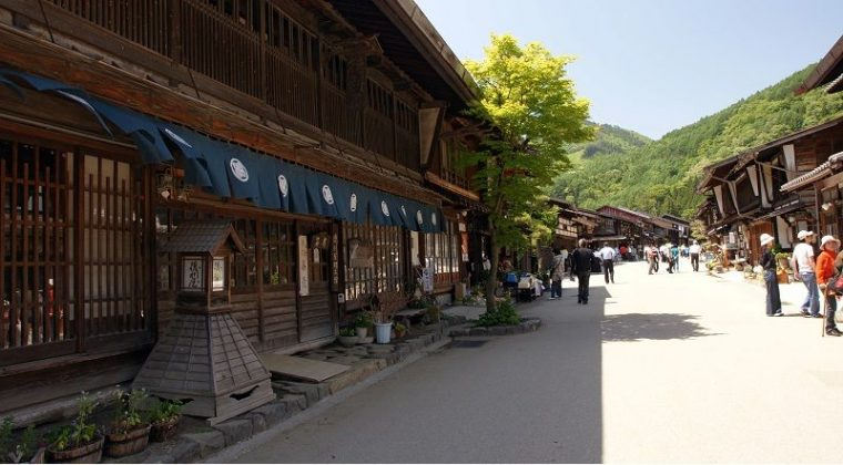 Image Photo of which cities to visit in japan narai juku nagano Pictures