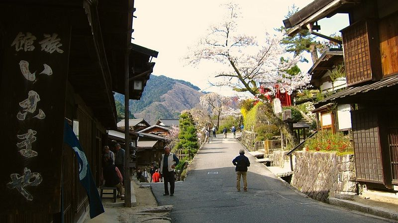 Image Photo of which cities to visit in japan sightseeing tsumago juku view nagano Pictures