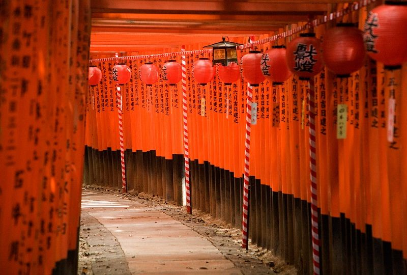 Image Photo of which cities to visit in japan torii gate of fushimi inaritaisya Pictures