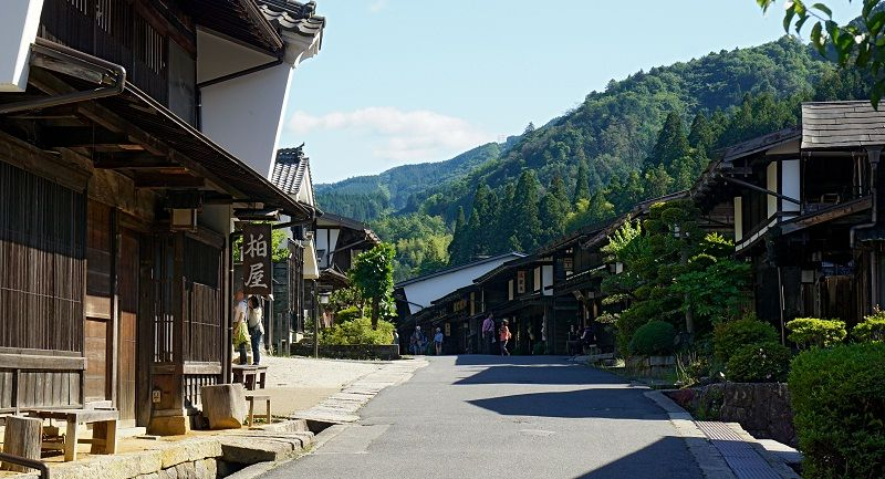 Image Photo of which cities to visit in japan tsumago juku nagano Pictures