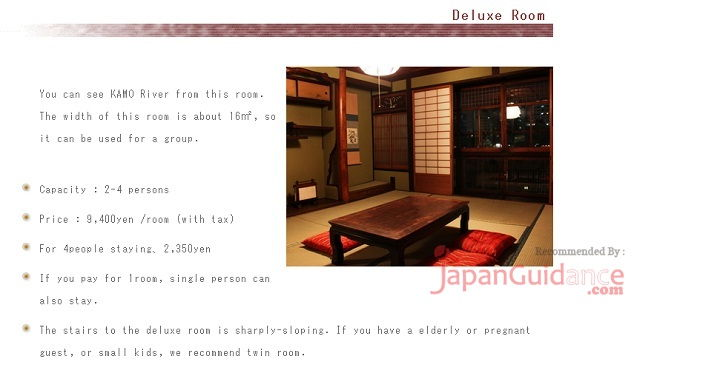 Image Photo of hotels in kyoto rakuza guesthouse Pictures