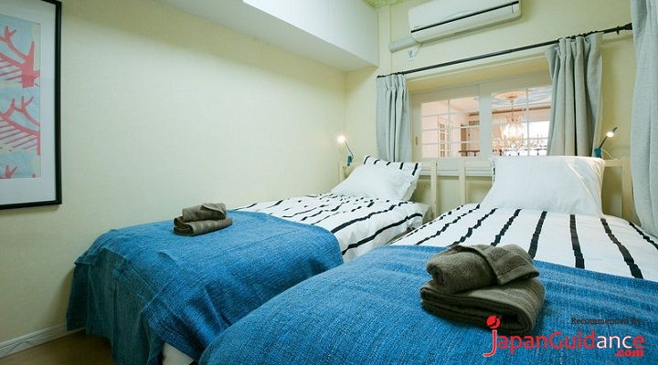 Image Photo of Tokyo Vacation Rentals Shibuya - Shinjuku Area - Double Bed Pictures
