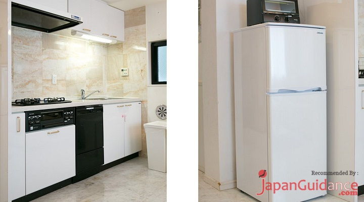 Image Photo of Tokyo Vacation Rentals Shibuya - Shinjuku Area - Have Modern Kitchen and Ice Box Pictures