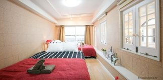 Image Photo of Tokyo Vacation Rentals Shibuya - Shinjuku Area - Large Bedroom Pictures