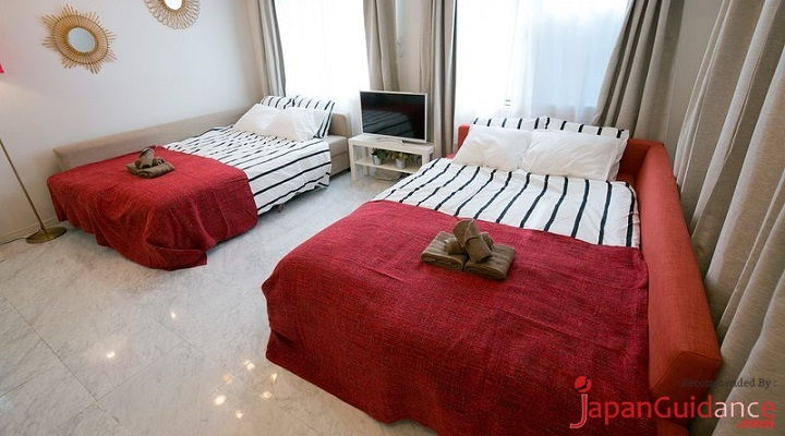 Image Photo of Tokyo Vacation Rentals Shibuya - Shinjuku Area - Multifunction Bed Pictures