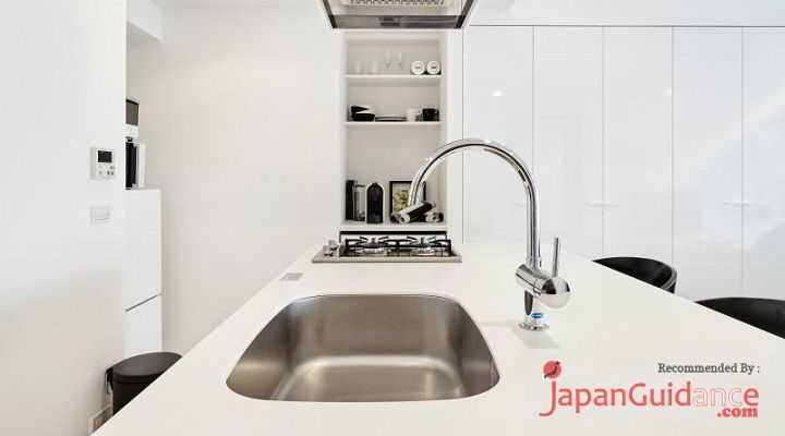 Image Photo of Tokyo Vacation Rentals Shibuya - Stylish and Modern Room Shibuya - Wastafel and Many More Pictues