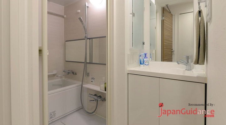 Image Photo of Tokyo Weekly Rentals AMI's Home Rentals Bathroom View Pictures