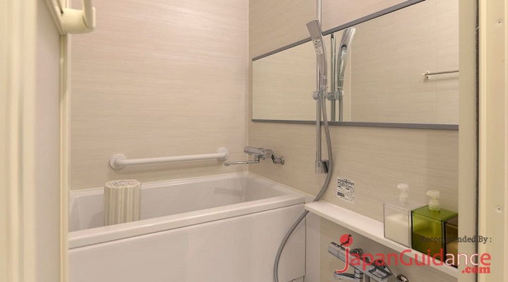 Image Photo of Tokyo Weekly Rentals AMI's Home Rentals Bathtub Facility Pictures