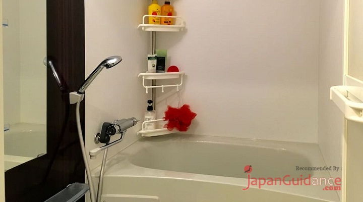 Image Photo of Tokyo Weekly Rentals Chris's Home Rentals Bathtub Facility Pictures