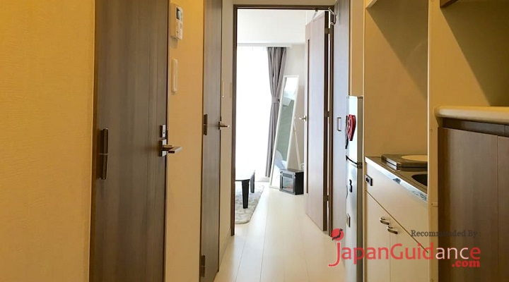 Image Photo of Tokyo Weekly Rentals Chris's Home Rentals Coridor View Pictures